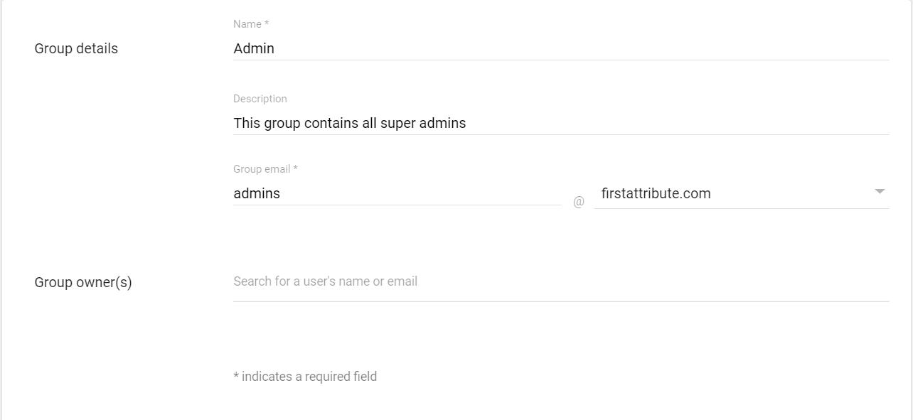 Grundinformationen für unsere Gruppe